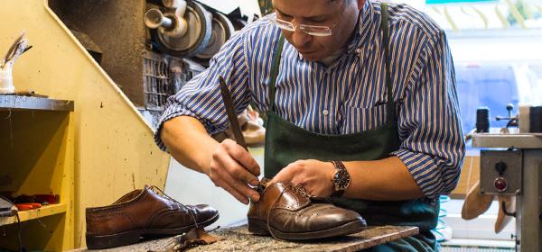 Schuhe, Reparatur, Absatz, Sohle, Nähte